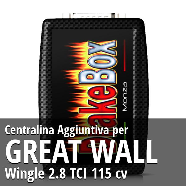 Centralina Aggiuntiva Great Wall Wingle 2.8 TCI 115 cv